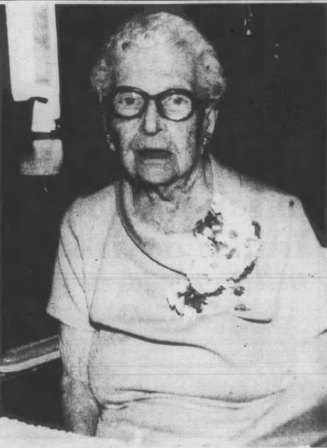 Florence Brownell, 107