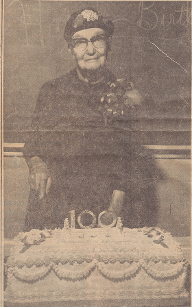 Fannie Thomas, 100