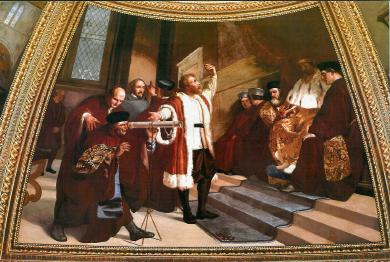 Galileo in Venice, 1609 AD