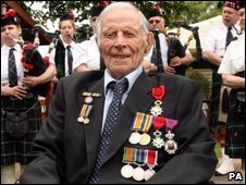 Harry Patch, 111